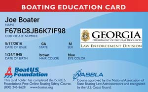 Georgia Boating Safety Course: BoatUS Foundation