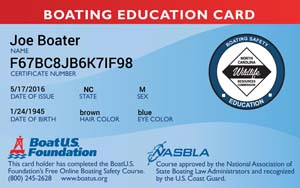 North Carolina Boating Safety Course: BoatUS Foundation