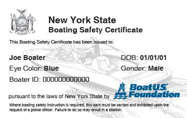 New York Boating Safety Course: BoatUS Foundation