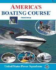 a picture of the america's boating course book