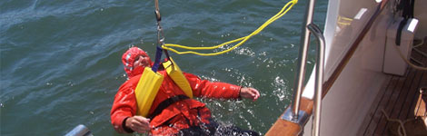 crew overboard drill training