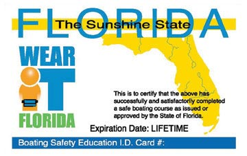florida plastic card