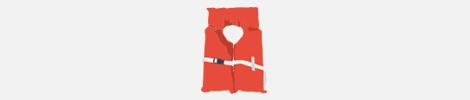 type 2 life jacket illustration
