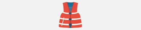 type 3 life jacket illustration