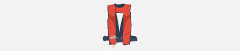 type 5 life jacket illustration